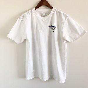 Hard Rock Cafe Memphis 100% Cotton Tee White M